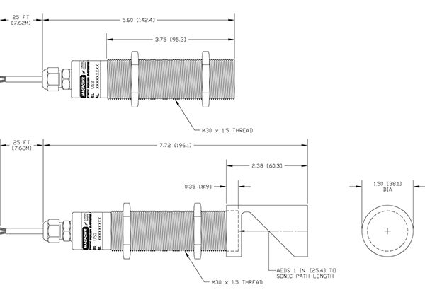 Magpowr US-2 ultrasonic sensor 2