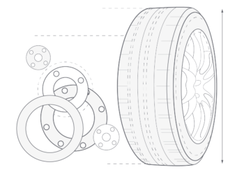 Illustration of tire