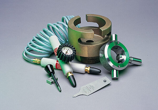Tidland accessories for tidland shafts and chucks