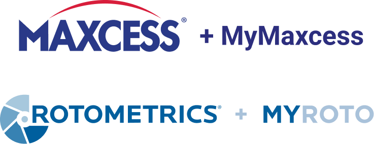 MyMaxcess and MyRoto logos
