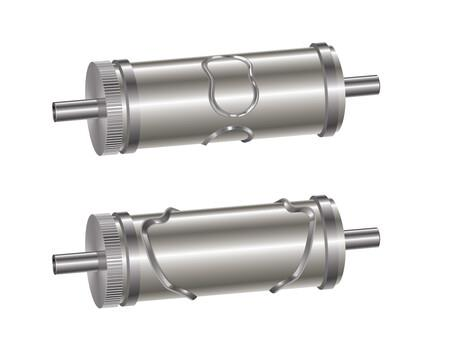 RotoMetrics RD300 NW D2 Solid Rotary Die for Nonwoven Applications